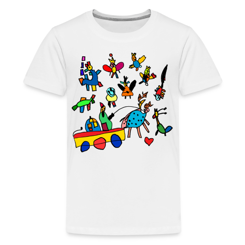 kidsworld - Teenager Premium T-Shirt