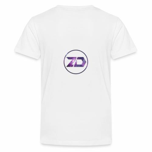 ZIZOUZ DESIGNS LOGO - T-shirt Premium Ado