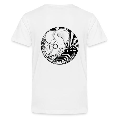 ---------- Crazy Mouse Factory ----------- - T-shirt Premium Ado