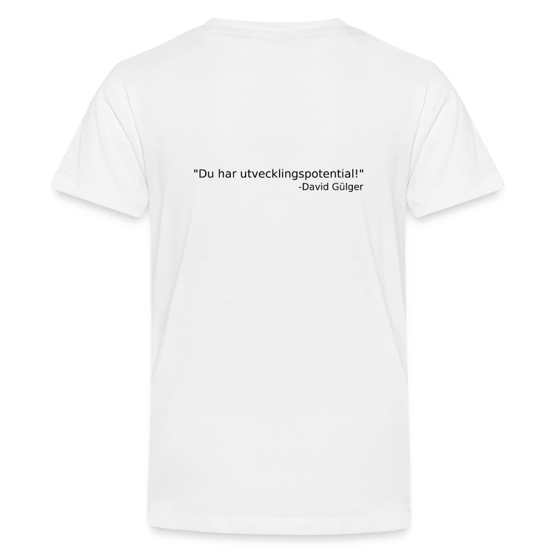 Ju jutsu kai förslag 1 version 1 svart text - Premium-T-shirt tonåring
