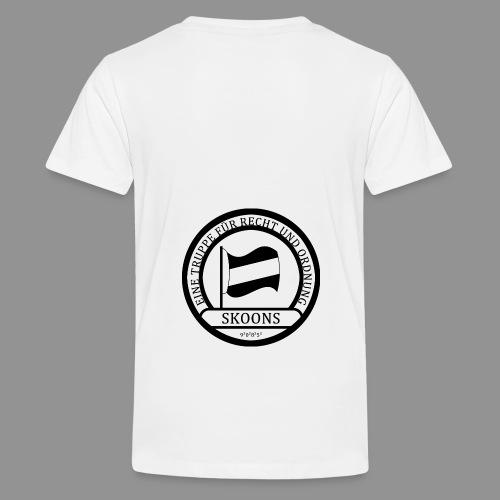 Eine Truppe für Recht und Ordnung - SKOONS - Teenager Premium T-Shirt