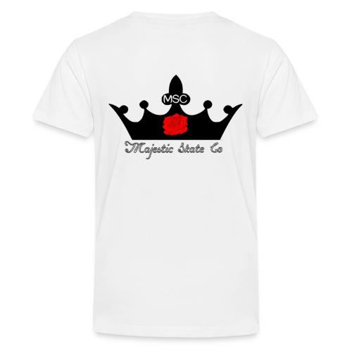 Majestic Skate Co Logo Large - Teenage Premium T-Shirt