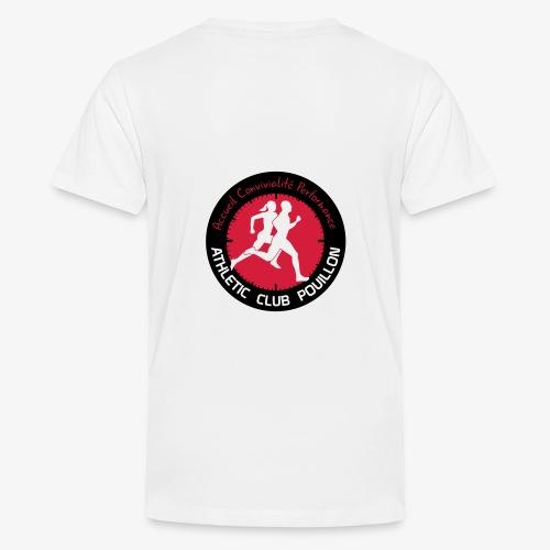 AC POUILLON - T-shirt Premium Ado