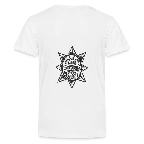 Würmesia Stern - Teenager Premium T-Shirt