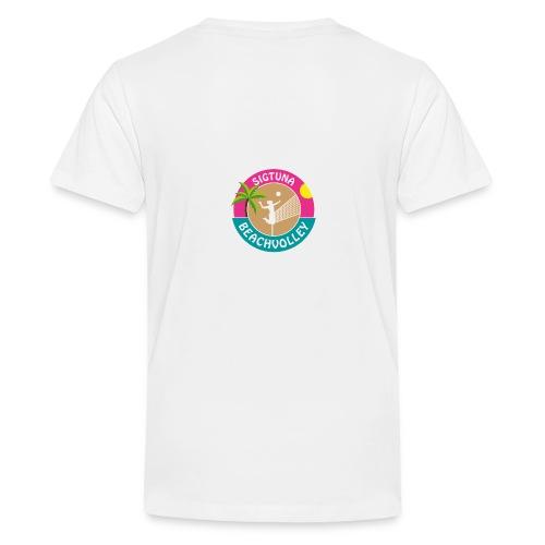 SigtunaBeachvolley - Premium-T-shirt tonåring
