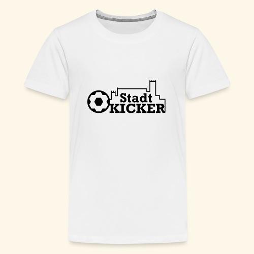 Wartburg Stadt Kicker - Teenager Premium T-Shirt
