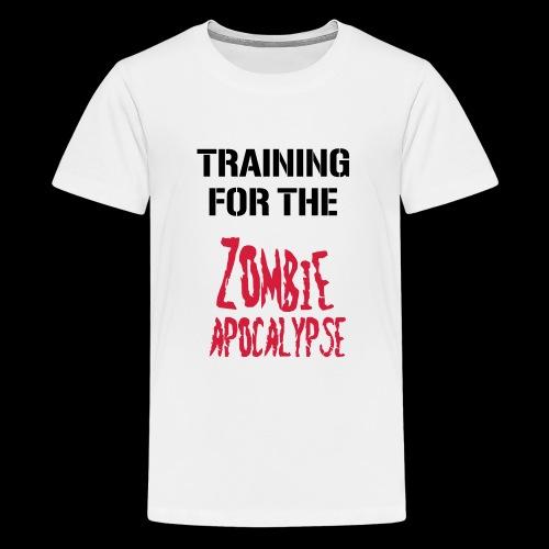 Zombie Apocalypse - Teenager Premium T-Shirt