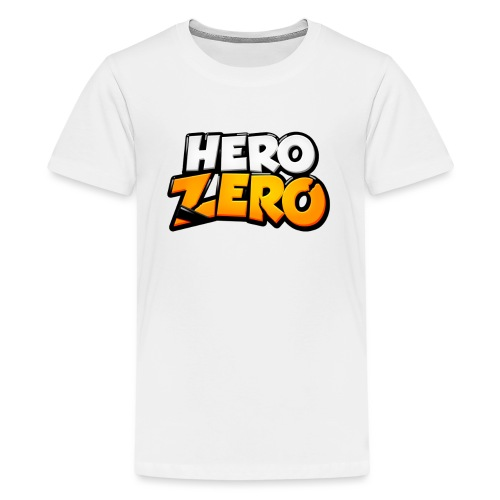 Hero Zero Logo - Teenage Premium T-Shirt