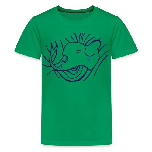 pesce2 - Maglietta Premium per ragazzi