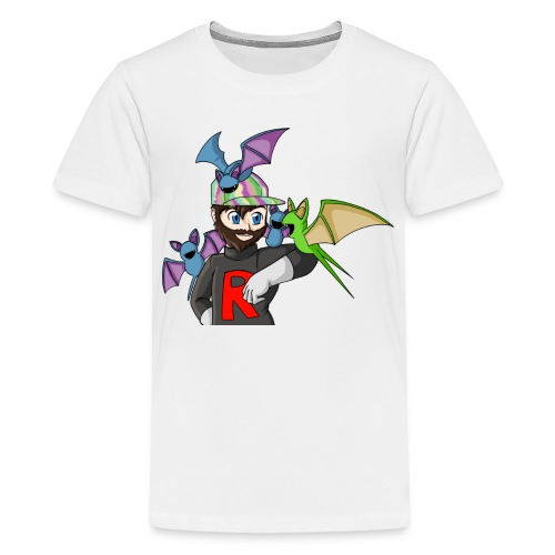 AJ and Zubat - Teenage Premium T-Shirt