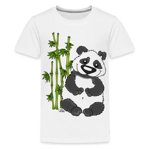 Panda Pao Pao - Teenager Premium T-Shirt