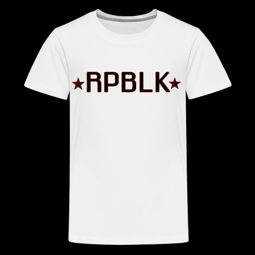 RPBLK - Teenage Premium T-Shirt