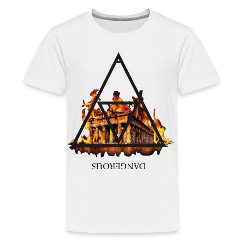 DANGEROUS FIRE - Maglietta Premium per ragazzi