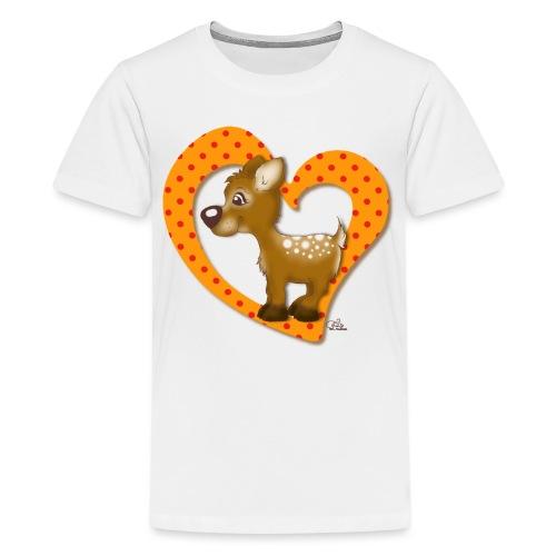 Kira Kitzi Mandarine - Teenager Premium T-Shirt