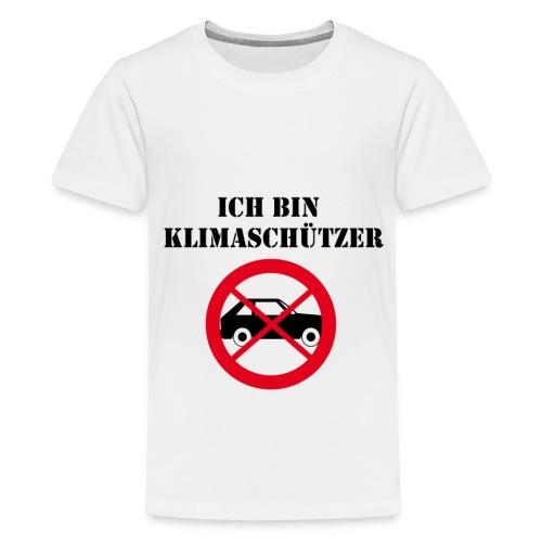 Ich bin Klimaschützer - Teenager Premium T-Shirt