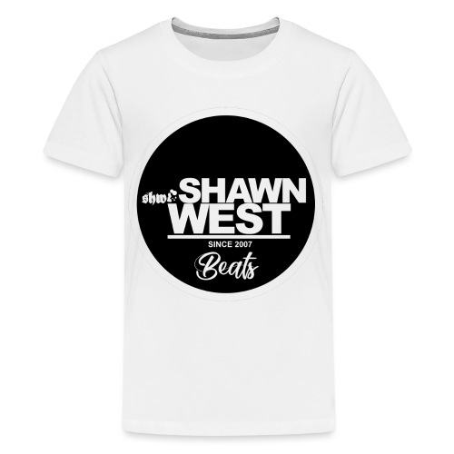 SHAWN WEST BUTTON - Teenager Premium T-Shirt