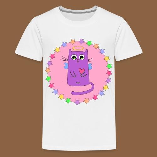 Kawaii Cat - Teenager Premium T-shirt