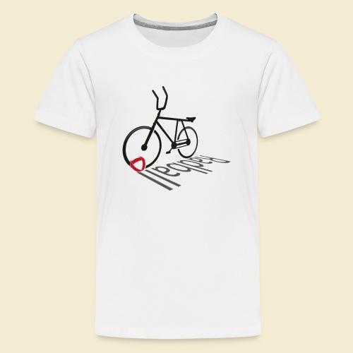 Radball   Shadow - Teenager Premium T-Shirt