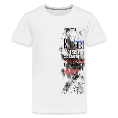 Limited Edition Reit Shirt Pferde Reiten - Teenager Premium T-Shirt