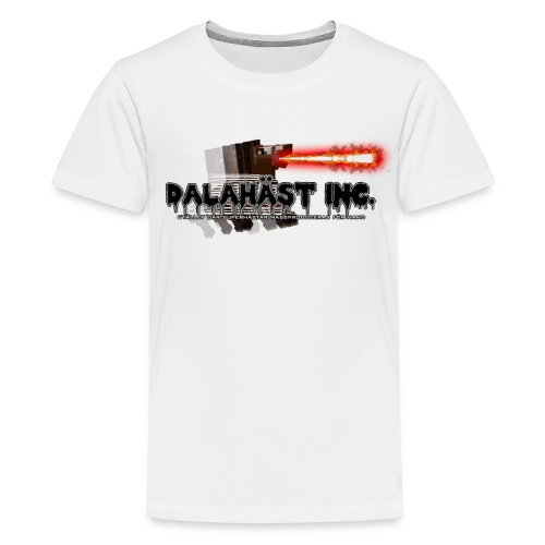 Dalahäst Inc Logo - Premium-T-shirt tonåring