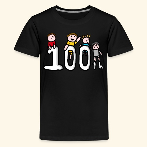 100th Video - Teenage Premium T-Shirt