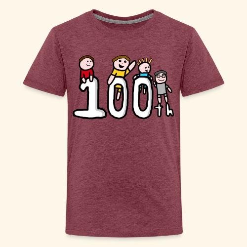 100th Video - Teenage Premium T-Shirt