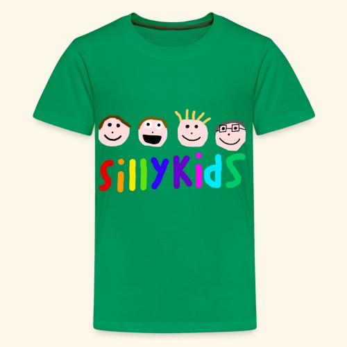 Sillykids Logo - Teenage Premium T-Shirt