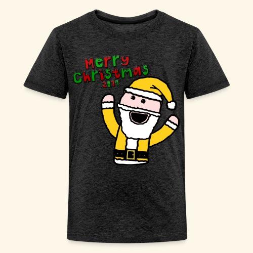 Santa Kid (Christmas 2019) - Teenage Premium T-Shirt
