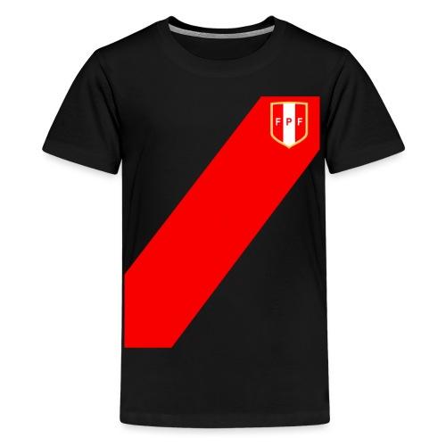 Seleccion peruana de futbol - Teenage Premium T-Shirt
