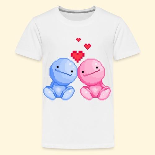 Nohohon amoureux de la Saint Valentin - T-shirt Premium Ado