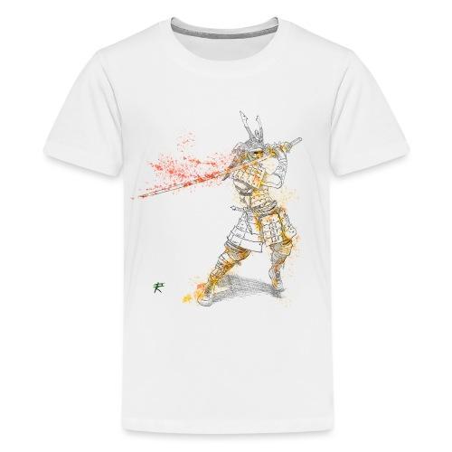 Samurai color - Maglietta Premium per ragazzi