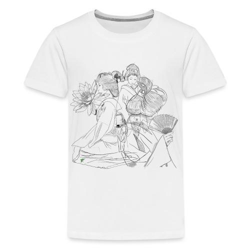 Geisha - Maglietta Premium per ragazzi