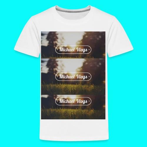 FotorCreatedgggg jpg - Teenage Premium T-Shirt