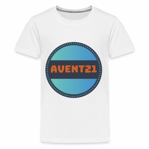 avent21 logo - Teenage Premium T-Shirt