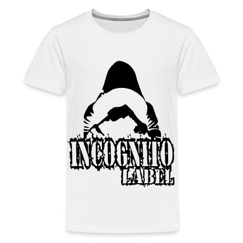 LOGO INCOGNITO LABEL © - Koszulka młodzieżowa Premium