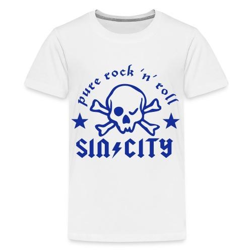 sc skull cr - Teenager Premium T-Shirt