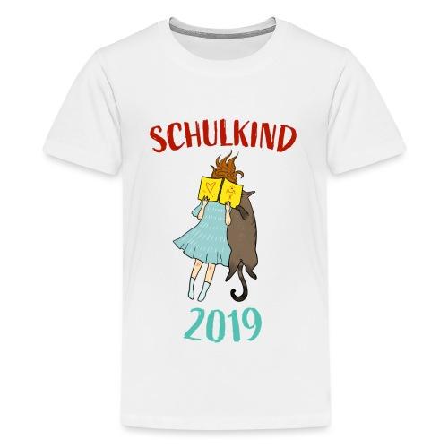 Schulkind 2019 | Einschulung und Schulanfang - Teenager Premium T-Shirt