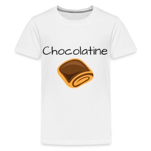 Chocolatine - T-shirt Premium Ado