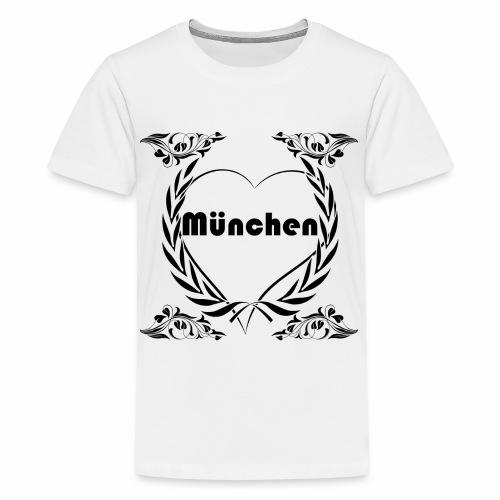 Ich liebe München - Teenager Premium T-Shirt