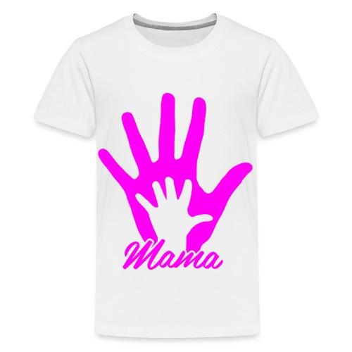mamas hand - T-shirt Premium Ado