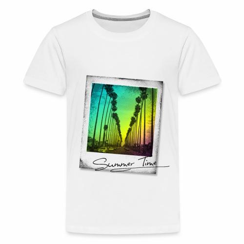 Summer Time - Teenage Premium T-Shirt