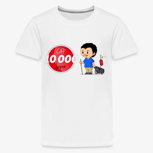 Logo Cap 10 000 Japon - T-shirt Premium Ado