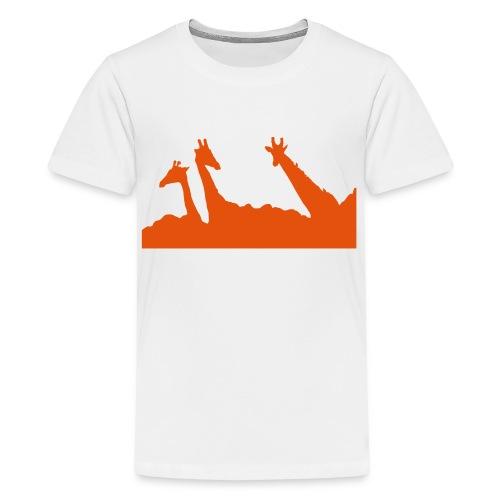 Buschgiraffen - Teenager Premium T-Shirt