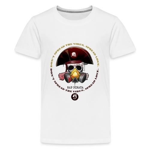RAPPIRATA X iorestoacasaArtistiUniti - Maglietta Premium per ragazzi