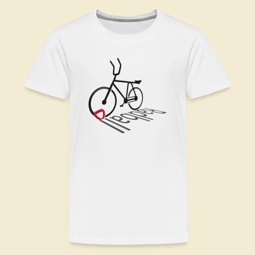 Radball | Shadow - Teenager Premium T-Shirt
