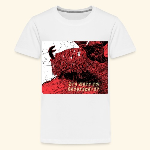 Der Wolf im Schafspelz - Teenager Premium T-Shirt