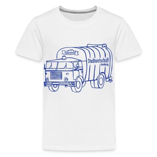 Stadtwirtschaft BOBR - Teenager Premium T-Shirt