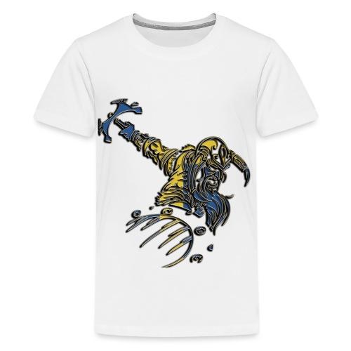 viking - Premium-T-shirt tonåring