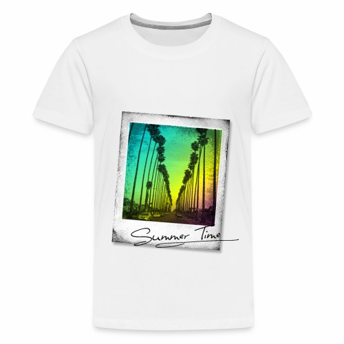 Summer Time - Teenage Premium T-Shirt