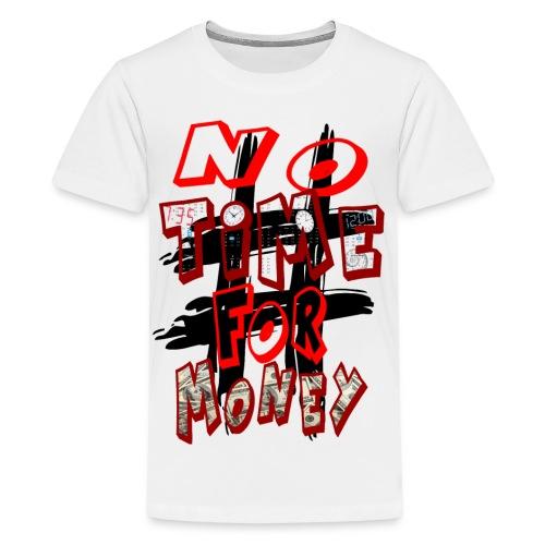 H-Tag No Time For Money - T-shirt Premium Ado